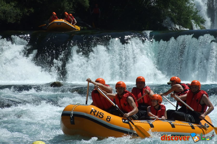 RAFTING ROUTES – Rafting Center Discover Bihac