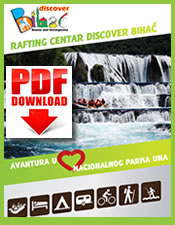 PDF brochure - Rafting Center Discover Bihac